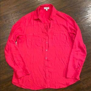 Express Blouse (Hot Pink)